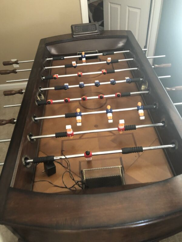 foosball table And Poker Table Good Condition