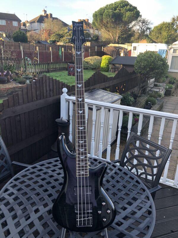 schecter  Diamond Series bass guitar