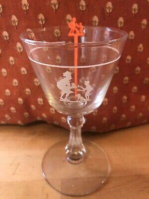 Howard Johnson's Cocktail Glass