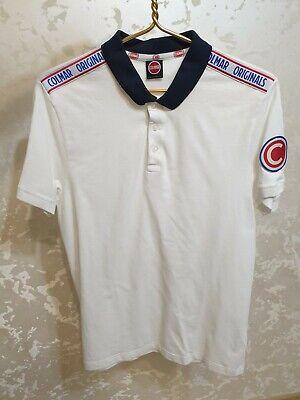 Men's COLMAR Originals Polo T-Shirt Size L XL Slim