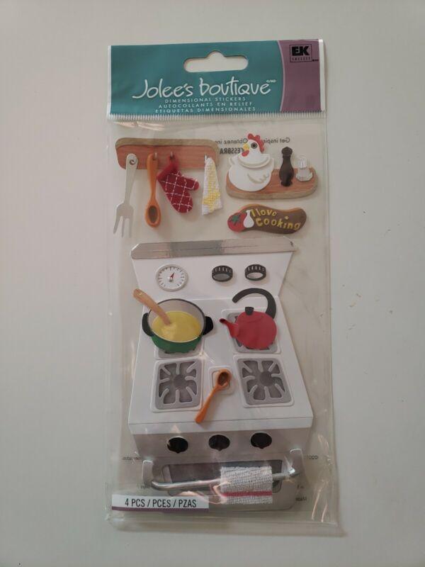 Jolees Boutique scrapbooking stickers Cooking
