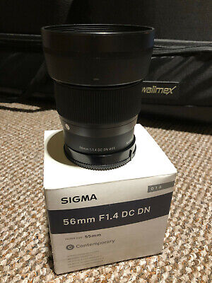 SIGMA 56mm F1.4 DC DN Contemporary Lens For Sony E Mount