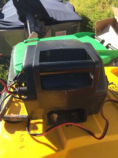 Boat winch electric 12 volt with accessories