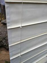 Roman Blinds in off white heavy fabric. East Kurrajong Hawkesbury Area Preview
