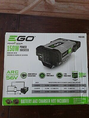 EGO Power Inverter 56V Nexus Escape 150-Watt 2 USB Ports 120V AC Power Outlet Ac 120 Watt Usb Inverter