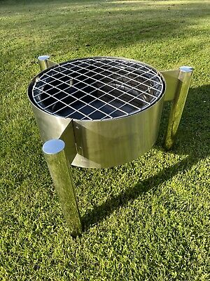 STAINLESS STEEL MODERN DESIGN OUTDOOR FIREPIT CAMPING
