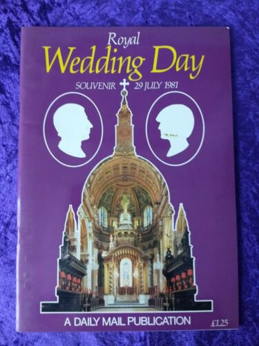 1981 Charles & Diana souvenir wedding book
