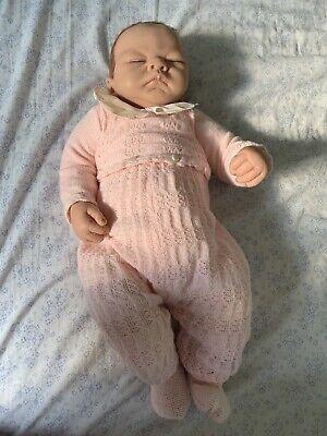 Ashton Drake 'Welcome home baby Emily' life like girl doll collectors