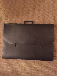 Black Colby A2 drawing art folio carry case  Darling Point Eastern Suburbs Preview