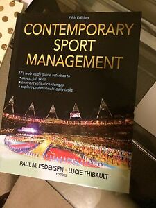 PERLS 105 Sport management Textbook