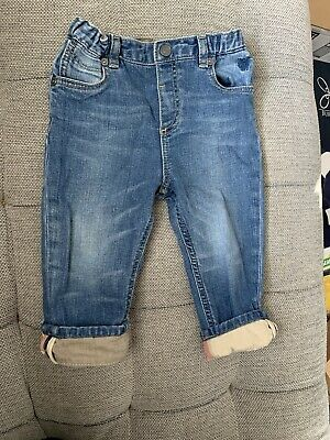 Baby Boy Burberry Denim Jeans Size 18M