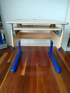Ergonomic height adjustable Kid's Computer Desk