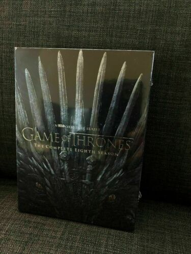 Game of Thrones SEASON 8 The Complete Eighth 8th Season 8 DVD BRAND NEW