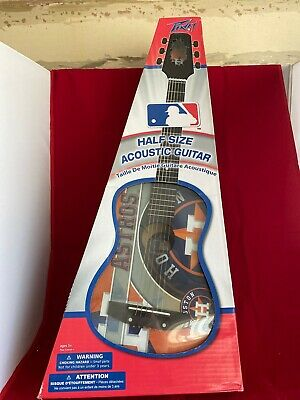 G001 - Peavey Houston Astros 1/2 Size Acoustic Guitar - NIB