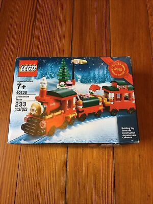 LEGO Creator Christmas Train 2015 (40138) NEW Limited Edition Light Box Wear