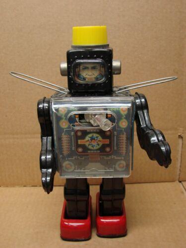 FIGHTING HORIKAWA ROBOT SPACE MAN W / RADAR GUN JAPAN C.1960s