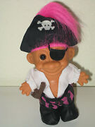Pirate Troll Doll