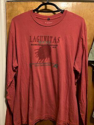 LAGUNITAS BREWING 2XL CALI ~ SUCKS ~ Beer Farm Fresh USA MADE L/Sleeve T Shirt