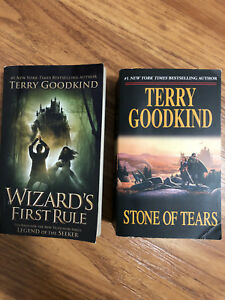 Wizard's First Rule and Stone of Tears by Terry Goodkind