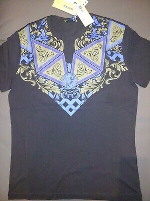 authentic versace jeans t-shirt, XXL and 100%  cotton