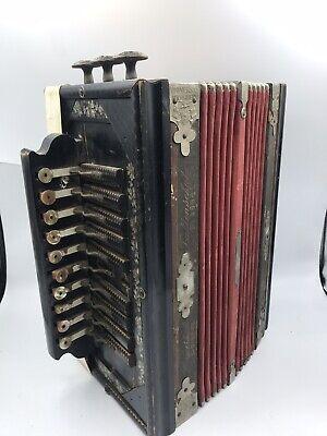 Old Universal Accordion Made In Germany Faltenschutz D. R.-G. Schutz # 35941tttt