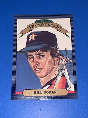 1986 Donruss Diamond Kings Bill Doran Houston Astros #10 Set Break NM-MINT