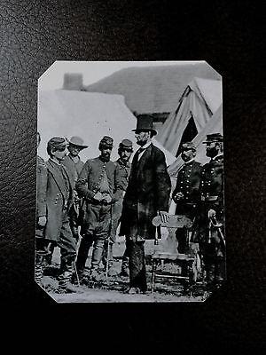 Tintype Of President Abraham Lincoln By Gardner 1862 Civil War  C576rp