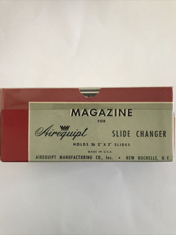 "Lot Of 19~Vintage  Airequipt Automatic Slide Changer - Holds 36-2"" X 2"" Slides"