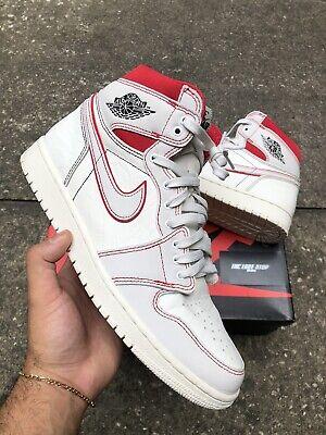 New Nike Air Jordan 1 Retro High Phantom Gym Red 555088-160 Mens Shoes SZ 10