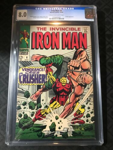 Iron Man #6 CGC 8.0 VERY FINE