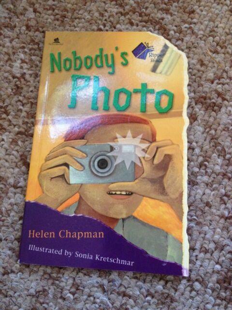 HELEN CHAPMAN, RIPPER READS. NOBODY'S PHOTO