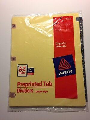 Letter Buff Oxford Premium Preprinted Tab Dividers 1-50