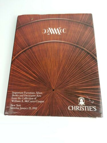 Vintage 1992 Christies Auction Book