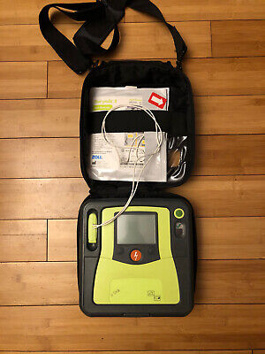Used Zoll Aed Pro With Case Battery And 2 Sets Of Pads