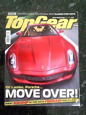 - TOP GEAR MAGAZINE JUL-2006 - Porsche 911 Turbo, Ferrari 599, Clio dCi, Polo GTi