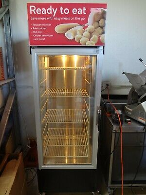 Free Standing Hatco Pfst-1x Flav-r-savor Heated Pizza Warmer-display. Deli Food