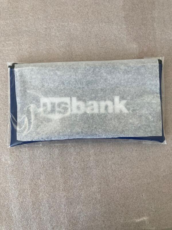 NEW US BANK Money Deposit Zipper Bank Bag!