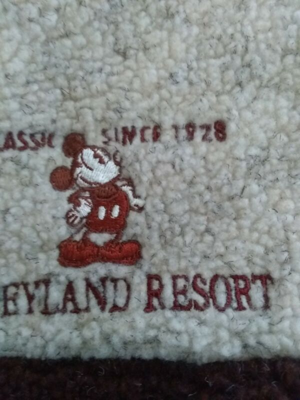 Disneyland Resort Mickey Mouse Pullover Fleece -Lady XL- FLAWLESS SPOTLESS COND