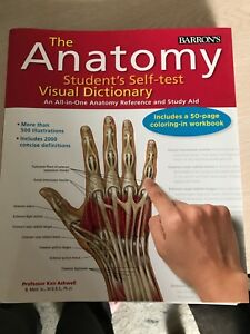 The Anatomy student Self-test Visual Dictionary
