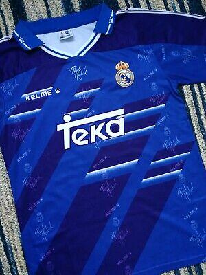 Real Madrid Raul 1994 1996 debut shirt jersey Remake M retro camiseta...