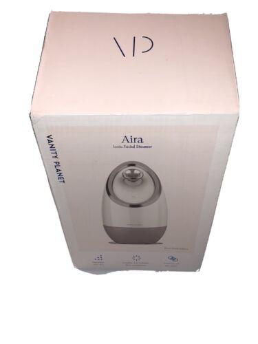 VANITY PLANET Aira Ionic Facial Steamer Rose Gold Edition De
