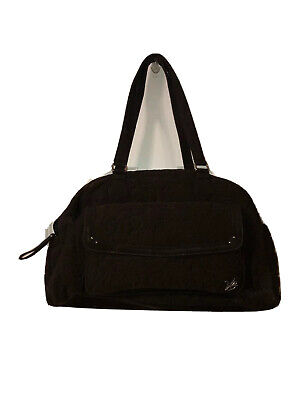 Vera Bradley Bowler Baby Bag in Espresso Microfiber. FAST SHIPPING!!