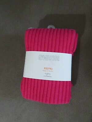 Hot Girl Tights (NEW Gymboree Girls Hot Dark Pink Tights Size XL 14 Extra Large)