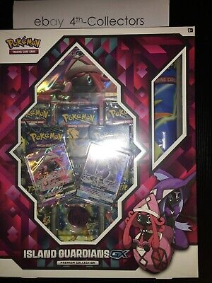 Pokemon Island Guardians GX Box Premium Collection Tapu Lele GX - Free shipping