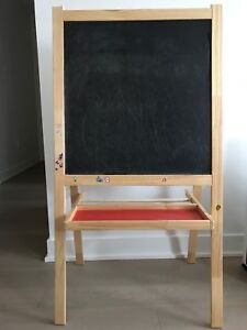 Kids painting board/white board & black board