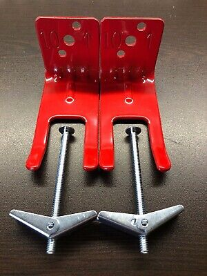 2-fork Style Wall Mount 510 20lb. Size Fire Extinguisher Amerex Bracket New