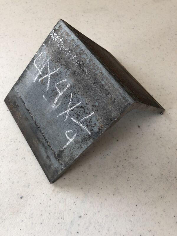 "4X 4X 1/4"" 3 Inches Long Steel Angle Iron Heavy Duty Bracing"