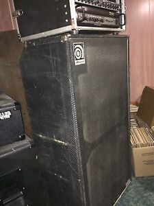 Ampeg Bass Amp and Head Cornwall Ontario image 3