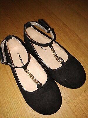 Ballerinas Gr 27 schwarz für Mädchen super schön ()