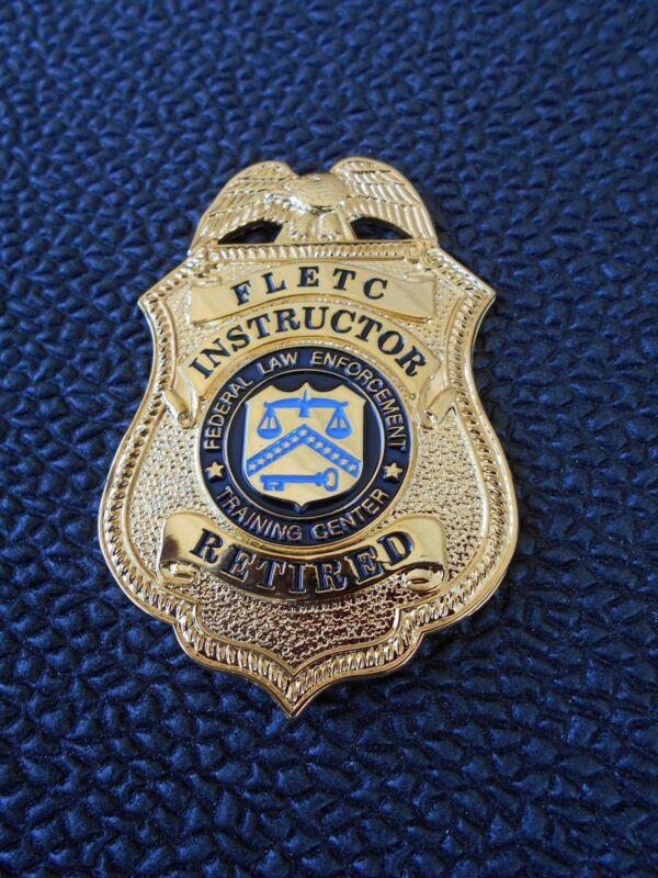 Federal Shield    -     FLETC   - Instructor Retired